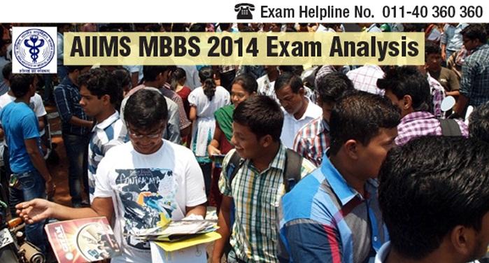 AIIMS MBBS 2014 Exam Analysis