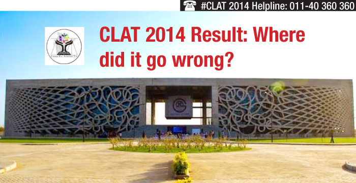 CLAT 2014 Results: Where did it go wrong