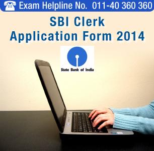 SBI Clerk 2014 Application Form