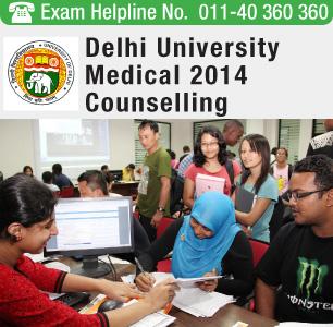 Delhi University Medical 2014 Counselling