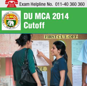 DU MCA 2014 Cutoff