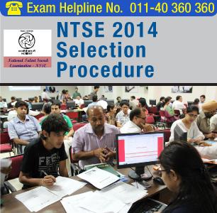 NTSE 2015 Selection Procedure