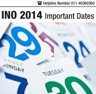 INO 2014 Important Dates