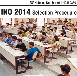 INO 2014 Selection Procedure