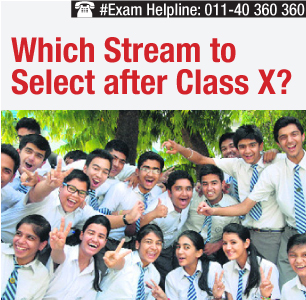 Which Stream to Select after Class X?