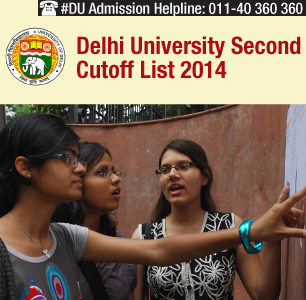Delhi University Second Cutoff List 2014
