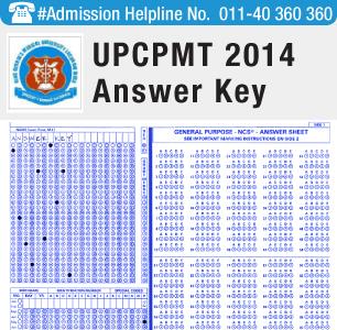 UPCPMT 2014 Answer Key