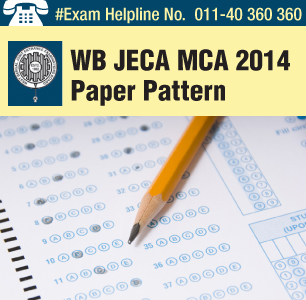 WB JECA MCA 2014 Paper pattern