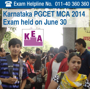 Karnataka PGCET MCA 2014 written exam held on June 30