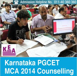 Karnataka PGCET MCA 2014 Counselling