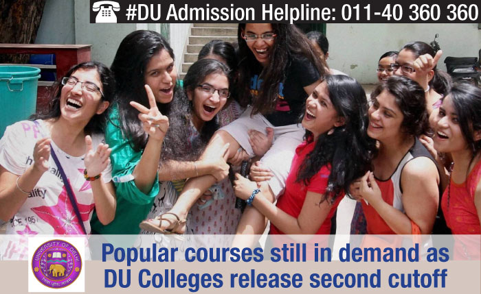 Popular courses at DU still in demand as university releases second cutoff