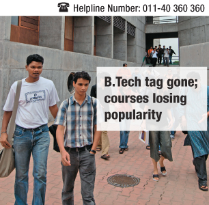 After B.Tech scrapped, few takers for 3-yr technical courses