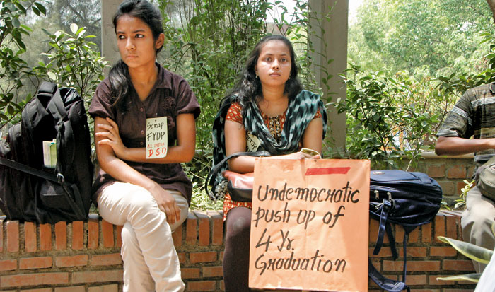 UGC-DU power tussle: Where is our system heading?