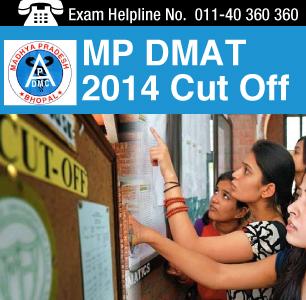 MP DMAT 2014 Cutoff