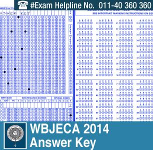 WB JECA MCA 2014 Answer Key