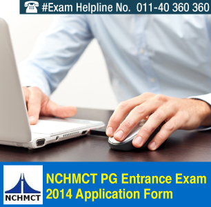 NCHMCT PG 2014 Application Form