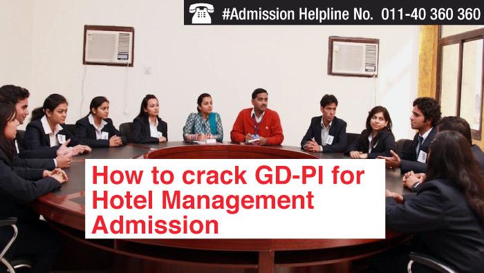 How to crack GD-PI for Hotel Management admission
