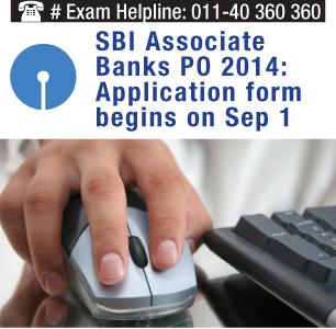 SBI Associate Banks PO 2014: Application form begins from Sep 1