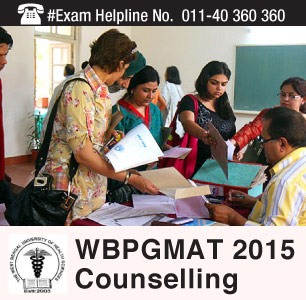 WBPG MAT 2015 Counselling