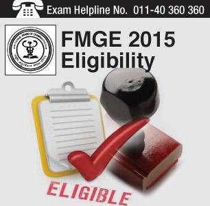 FMGE 2014 Eligibility Criteria