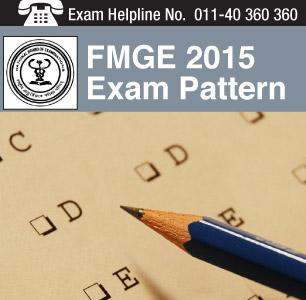 FMGE 2014 Exam Pattern