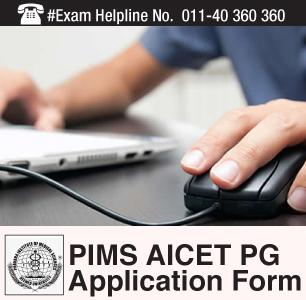 PIMS AICET PG 2015 Application Form
