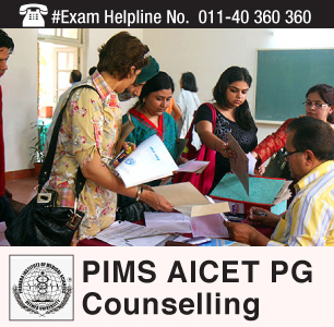 PIMS AICET PG 2015 Counselling