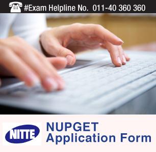 NUPGET 2015 Application Form
