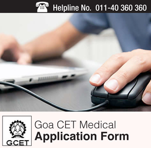 Goa CET Medical 2015 Application Form