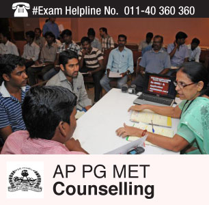 AP PGMET 2015 Counselling