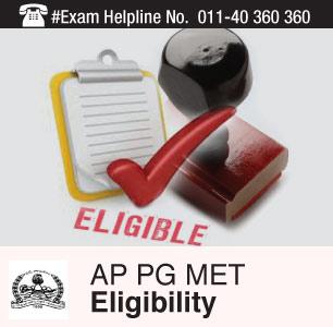 AP PG MET 2015 Eligibility