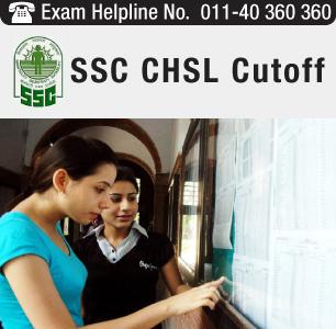 SSC CHSL 2014 Cutoff