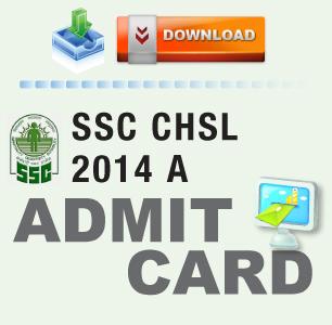 SSC CHSL 2014 Admit Card