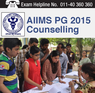AIIMS PG 2015 Counselling