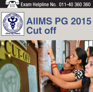 AIIMS PG 2015 Cut off