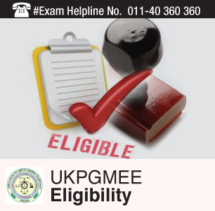 UKPGMEE 2015 Eligibility