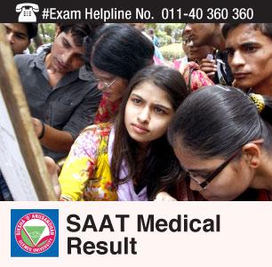 SAAT Medical 2015 Result