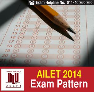 AILET 2015 Exam Pattern