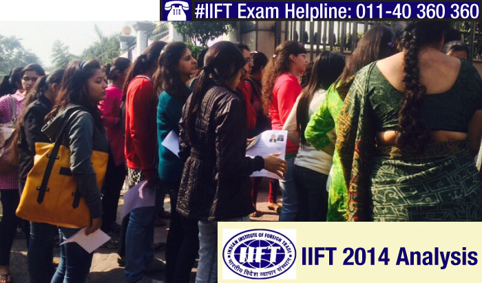 IIFT 2014 Analysis: Moderate to Tough Paper with 118 questions