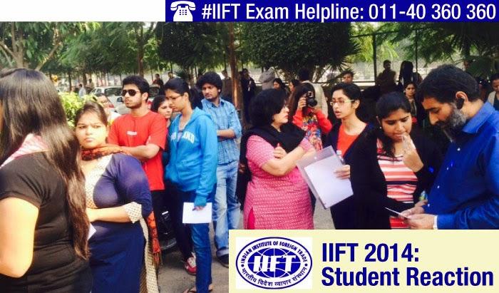 IIFT 2014: Students Reaction