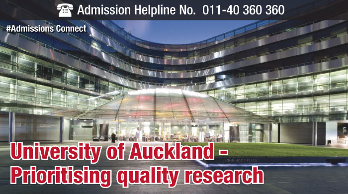 University of Auckland - Prioritising quality research