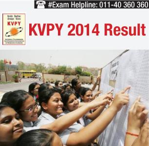 KVPY 2014 Result
