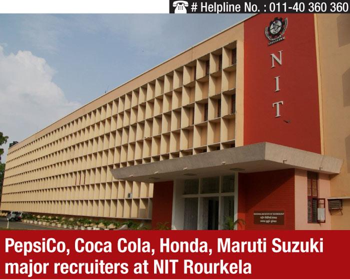 Placement 2015: PepsiCo, Coca Cola, Honda, Maruti Suzuki major recruiters at NIT Rourkela