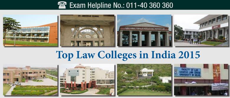Top Law Schools in India 2015