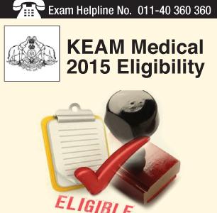 KEAM Medical 2015 Eligibility