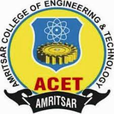 Amritsar College of Engineering & Technology announces B.Tech admissions 2015