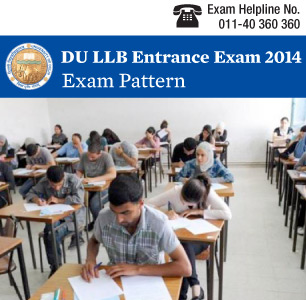 DU LLB 2015 Exam Pattern