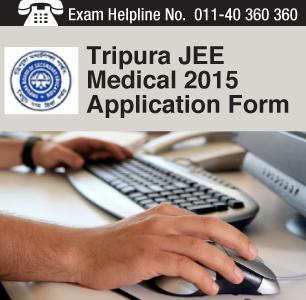 TJEE Medical 2015 Application Form