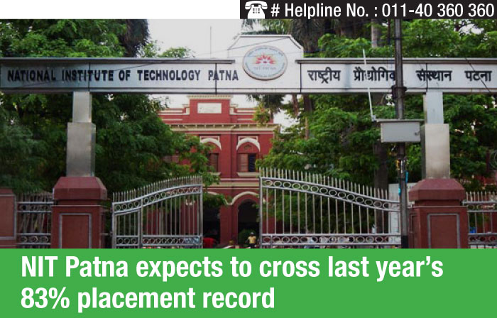 NIT Patna expects to cross last year's 83% placement record