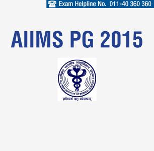 AIIMS PG Entrance Exam 2015